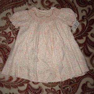Luli & Me sz 3 M Floral Button Down Bishop Dress